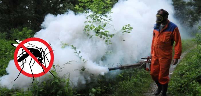 Сузбијање ларви комараца на територији општине Лебане