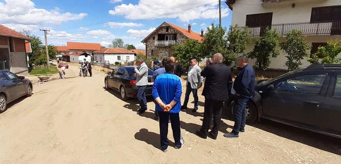 Руководство општине Лебане обишло радове у Тогочевцу